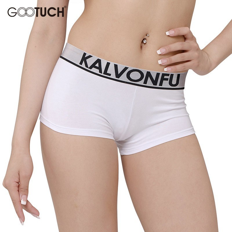 New Underwear Plus Size 6XL Womens Panties Lingerie Boxers Boyshorts Girls Fitness Students Colorful Personality Underpants 8983