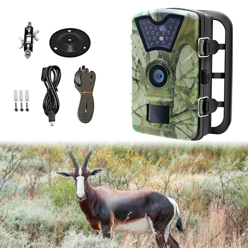 Skatolly CT008 Game Wildlife Trap Hunting Camera 12MP 1080P HD IR LED 2.4