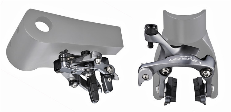 цена на shimano ULTEGRA BR-6810 6800 TT front rear caliper brake TT bike brakes hidden brake for road bike 6810 groupset free ship