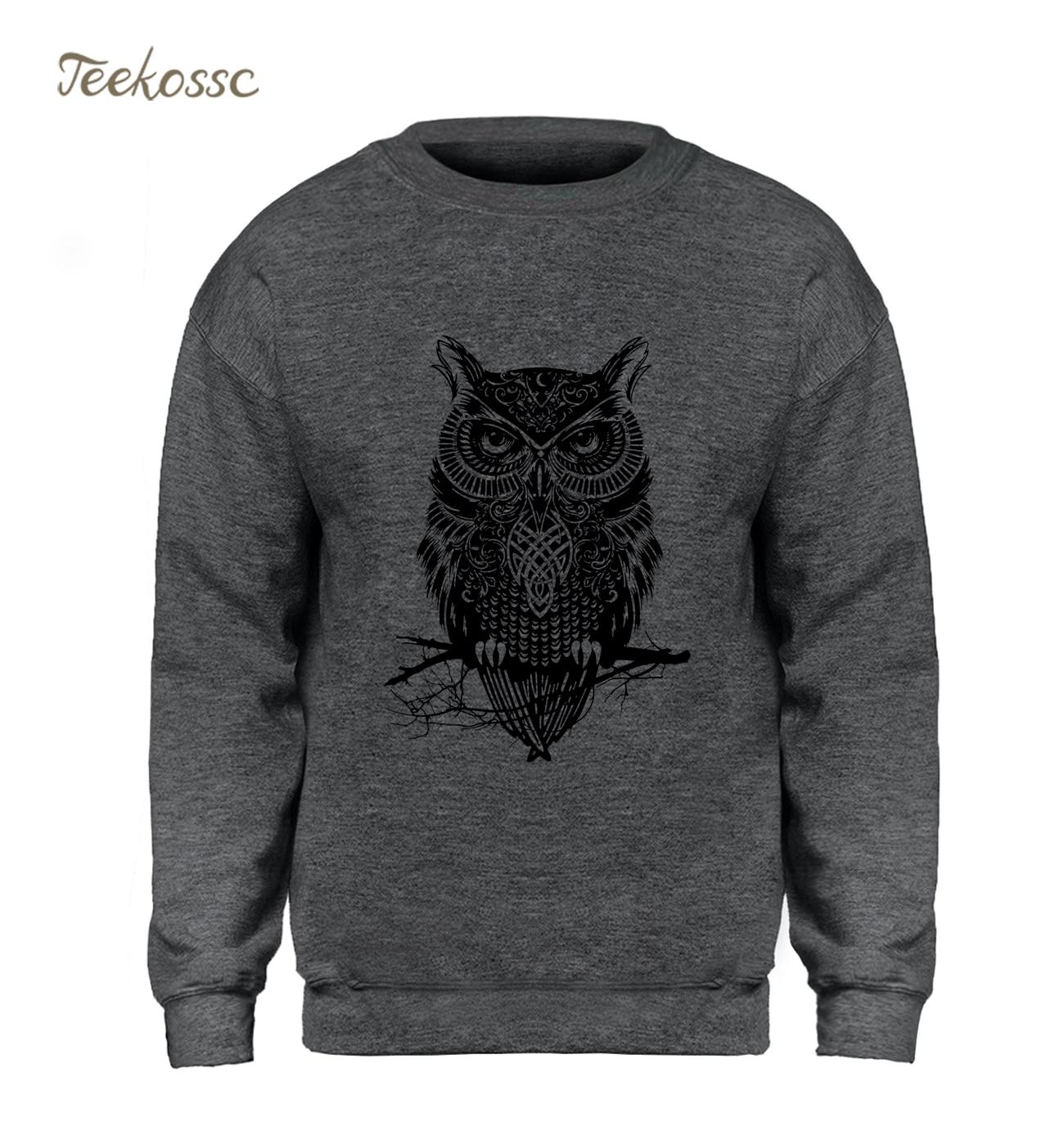 Owl Black Sweatshirt