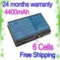 JIGU Новый 6 cell Аккумулятор Для Ноутбука Acer Extensa 5630G 7220 7620Z TM00741 TM00751 5210 5220 5230 5420 5420 Г 5610 5620 5620Z 5630