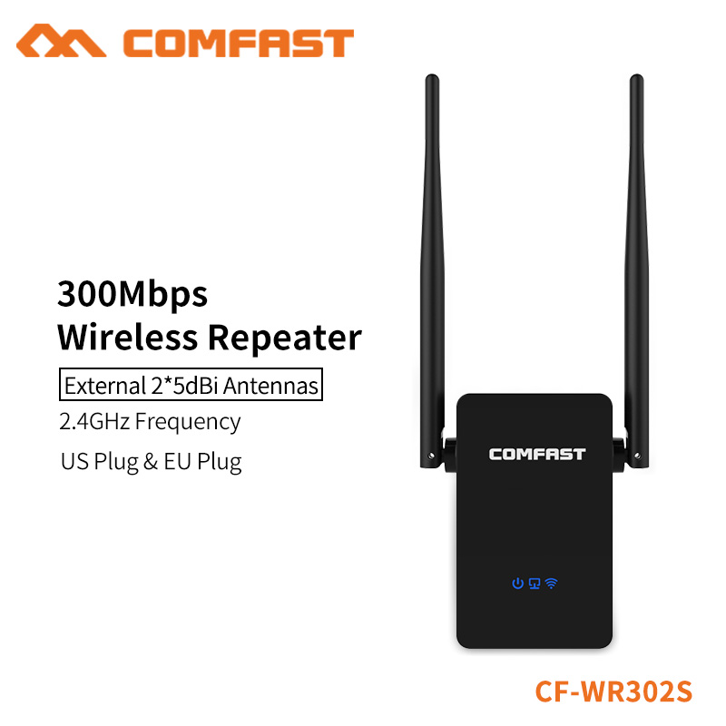 COMFAST Wireless Router Wi-fi Repeater 300mbps English Firmware Wifi Amplifier Signal Range Extender 802.11n 2.4Ghz CF-WR302S
