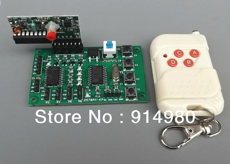 ФОТО DIY Micro Programmable2-phase 4-wire, 4-phase 5-wire stepper motor DC motor drive control board robot toy car