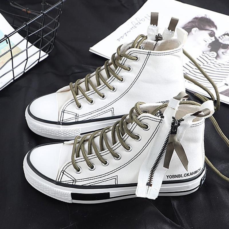 3450ec2883b2 Zapatos de lona para mujer, 2019, zapatillas de verano de alta calidad,  nuevas zapatillas de moda ...