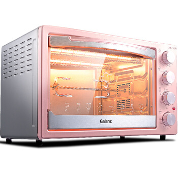 X2R Home Multifunction 42 L Baking Oven Up and Down Independent Temperature Control with A Fork Hot Air Light Wave Heating new afp2434 plc 2 axes independent fp2sh positioning units multifunction type