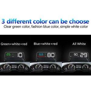 Image 3 - WiiYii hud T900 HUD C500 obd pantalla gps velocímetro universal de advertencia de exceso de velocidad del coche sistema de alarma del proyector del parabrisas