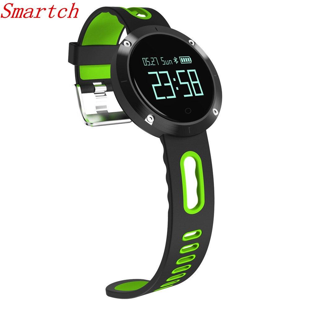 Smartch DM58 Smart band Heart Rate Monitor Bluetooth Smart bracelet Wristbands Blood Pressure Fitness Tracker Waterproof