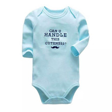 New Baby Bodysuit Lovely Printing Infant Jumpsuit Pure Cotton Short Sleeve Boys Girls Clothes