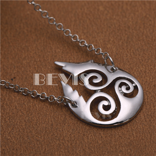 Bevis Teen Wolf Symbols Necklace In Chain Necklaces From Jewelry