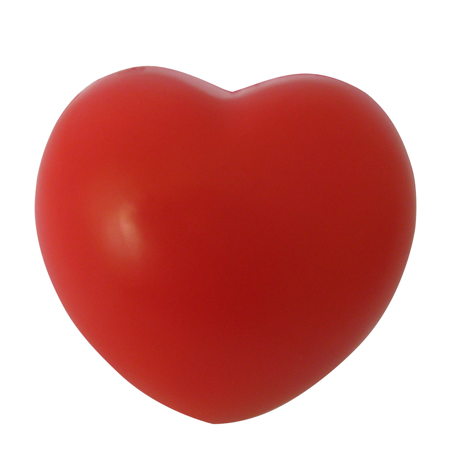 Heart Stress Reliever Ball Red