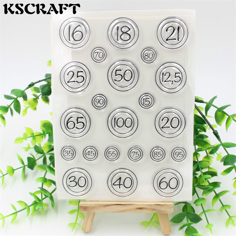 Numbers Transparent Clear Silicone Stamp/Seal for DIY scrapbooking/photo album Decorative clear stamp sheets lovely elements transparent clear silicone stamp seal for diy scrapbooking photo album decorative clear stamp sheets