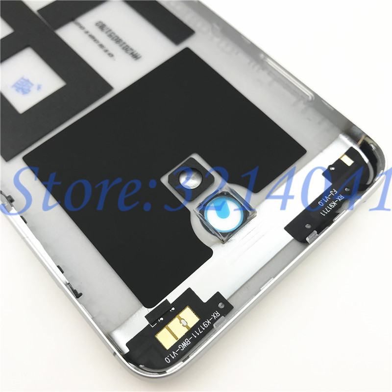 Image 4 - 5.2 inches For Meizu M6 m6 mini M711H M711Q Metal Battery Back Cover Replacement Parts Case+Buttons Camera Lens+side keys-in Mobile Phone Housings & Frames from Cellphones & Telecommunications on