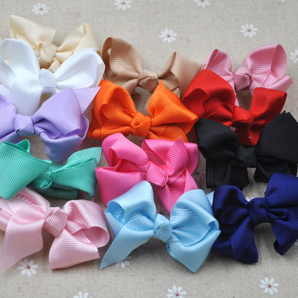 Artificial & Dried Flowers Festive & Party Supplies 10 Pcs Grosgrain Ribbon Bow Hair Clip Pin Flower Baby Girl Headdress Accessories A283 Limpid In Sight