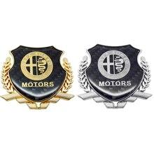цены Car Accessories Car 3D Carbon Fiber Sticker for Alfa Romeo 147 GT 155 156 159 Mito Giulia Giulietta Brera Spider Styling Auto