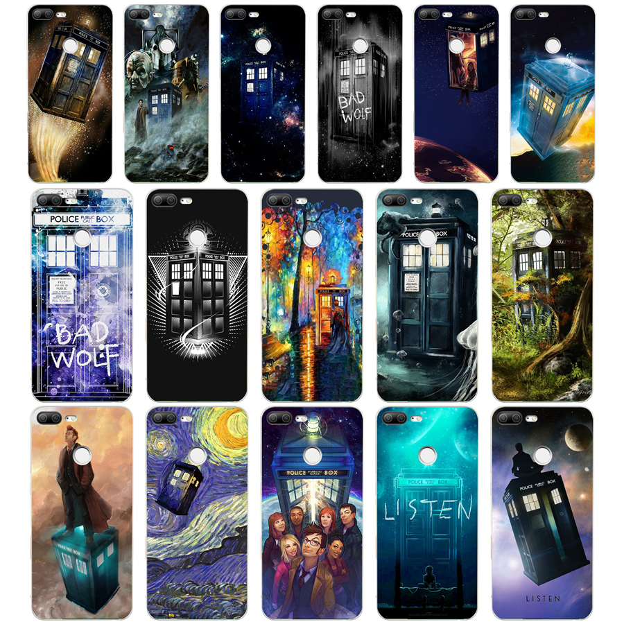 Cellphones & Telecommunications Painstaking 54we Box Doctor Who Silicone Tpu Cover Phone Case For Huawei Honor 8 9 Lite 8x P 8 9 Lite 2017