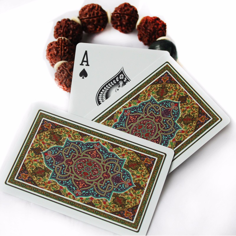 Top Quality Delicate Designs Box-packed Frosted Plastic PVC Poker Waterproof Playing Cards Creative Gift Poker