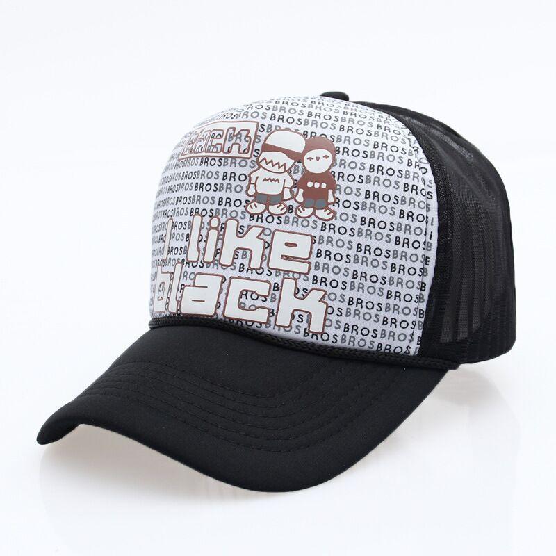 black trucker hat QQ20170809210153