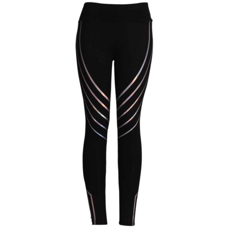 2018 Fashion Women Leggings Slim High Waist Elasticity Leggings Fitness Printing leggins  Breathable Woman Pants Leggings 5