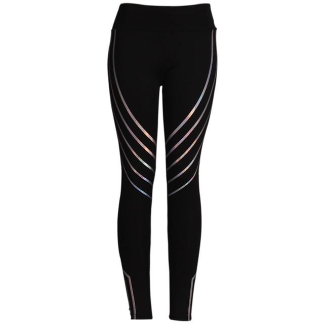 2019 Fashion Women Leggings Slim High Waist Elasticity Leggings Fitness Printing leggins  Breathable Woman Pants Leggings 5