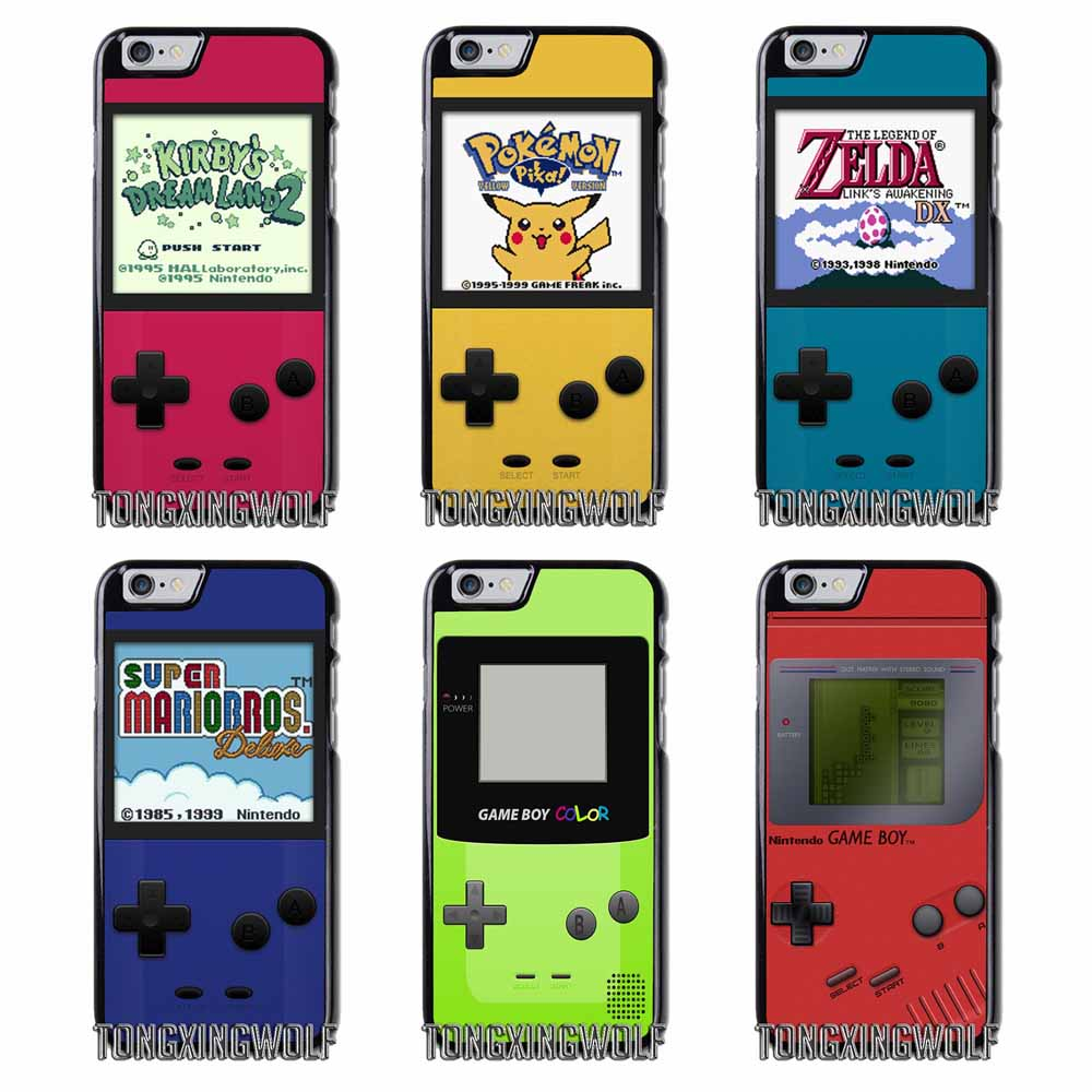 gameboy boy game  Cover Case For Samsung S4 S5 S6 S7 S8 Eege Plus Note 2 3 4 5 8 for Huawei P8 P9 P10 Lite 2017