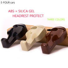 E-FOUR Car Headrest Clip Fastener Hanger Auto Back Seat Bag Holder Organizer Keep Car Tidying Car Fastener Hook Bag on Backseat e four car coat hanger car abs seat back clip clothes suit jacket slip hanger fashion car vehicle fastener back seat coat hanger