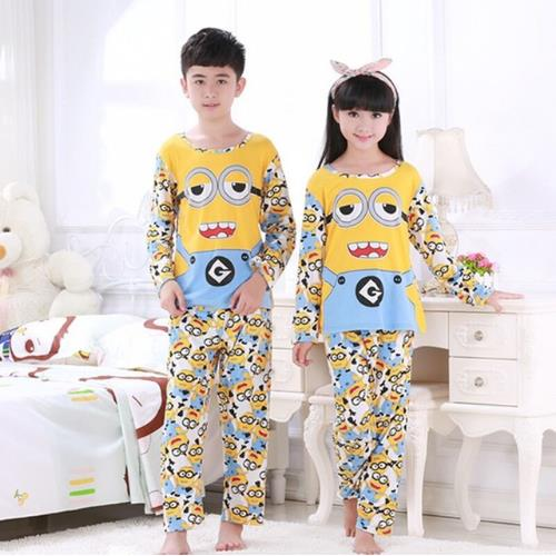 Kids long Sleeve pyjamas Striped Infant Clothing   Sets   Spring & autumn   Pajama     Sets   for baby Cartoon Girls Sleepwear Casual