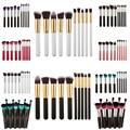 Fashion 10Pcs Professional Cosmetic Makeup Tool Brush Brushes Set Powder Eyeshadow