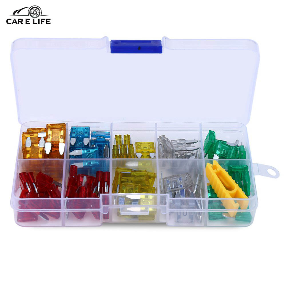 compare prices on fuse box car online shopping buy low price fuse 120pcs lot fuse box assortment car auto truck blade fuses kit 5a 10a 15a 20a