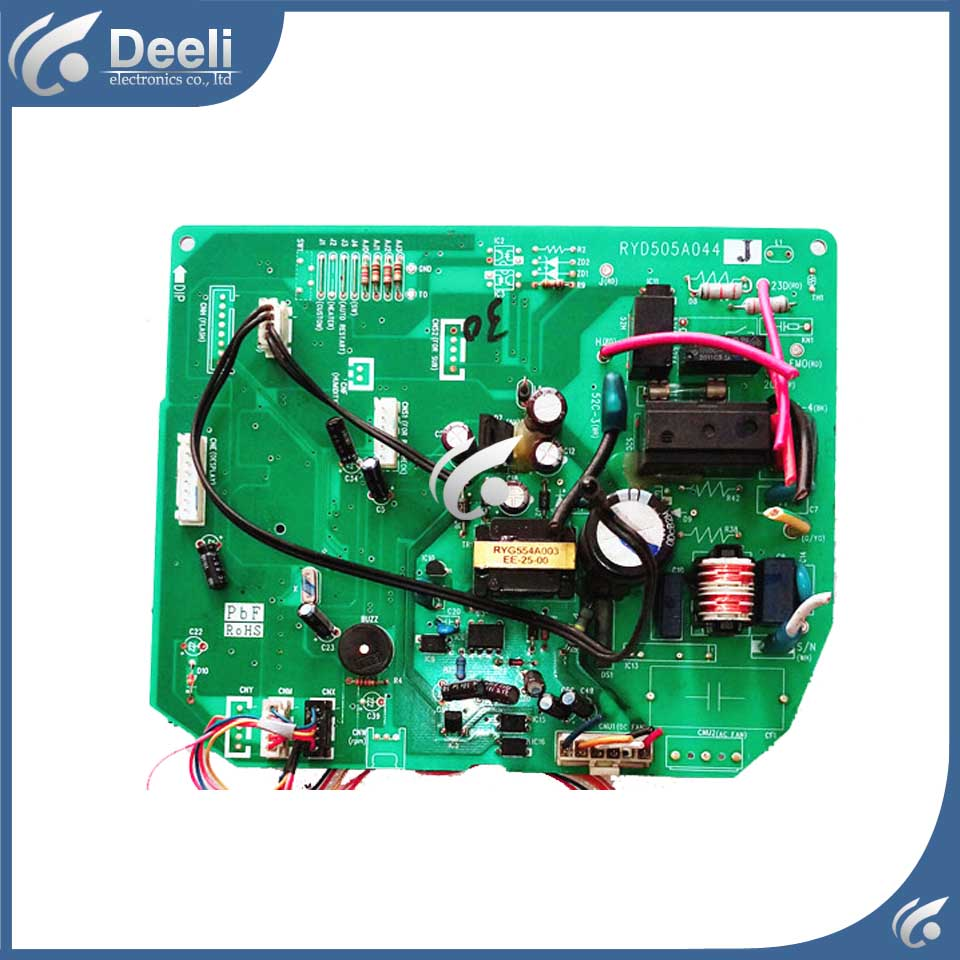 good working for air conditioning Computer board RYD505A044J used original for air conditioning computer board control board gal0902gk 01 gal0403gk 0101 used good working