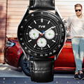 TVG Newest Quartz Watches Men Waterproof Fashion Wrist  Watch Casual Quartz-watch Stainless Steel watchband relogio masculino