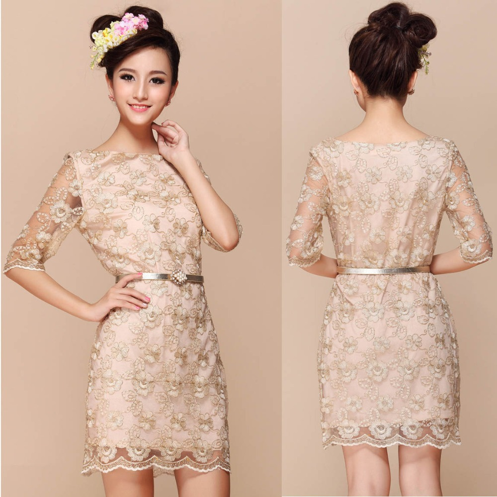 a4eb97e09f48 2015 sexy party lace lady dresses Cute Elegant spring .