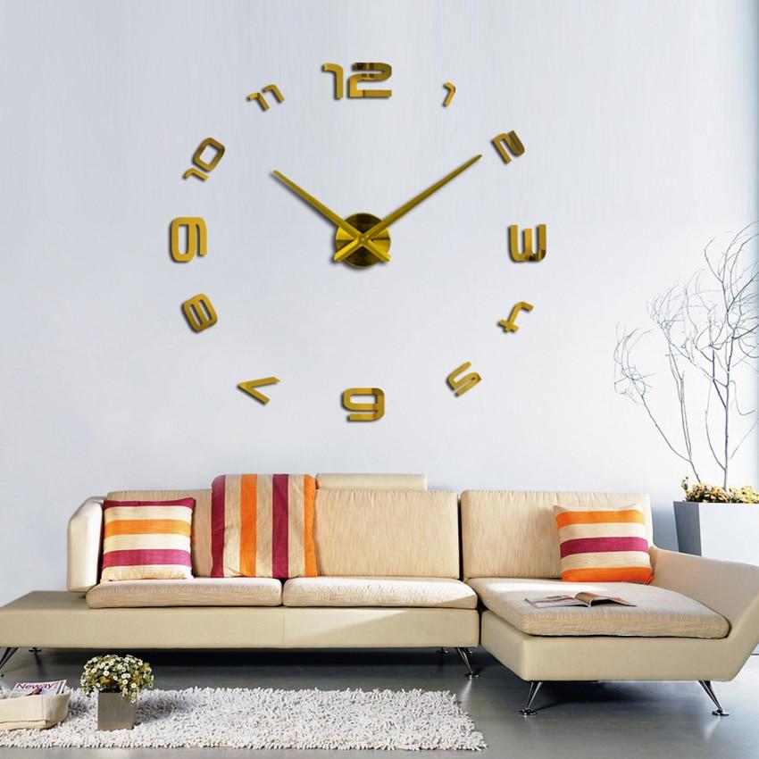 2020 muhsein Nieuwe wandklok Stijl Woondecoratie Decoratie Woonkamer Wandklok Mode Korte quartz klok Grote klokken