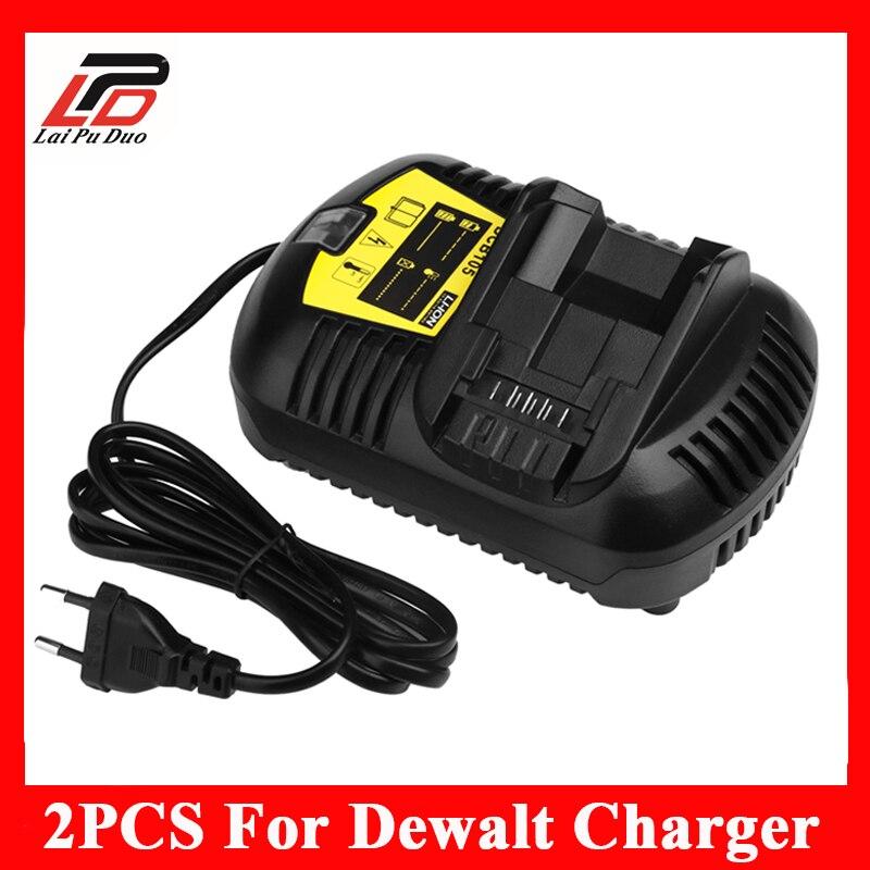 2pcs/1lot Replacement <font><b>charger</b></font> Power Tool <font><b>Battery</b></font> <font><b>Charger</b></font> for <font><b>Dewalt</b></font> ,DCB101,DCB105,DCB200,DCB201,D-65510 110v/220v