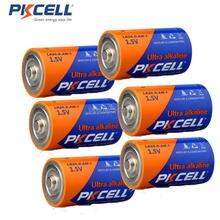 6 x 1.5V LR20 D Size Alkaline single use Battery Superior to R20 UM1 For Digital camera MP3 Walkman Electronic Toys