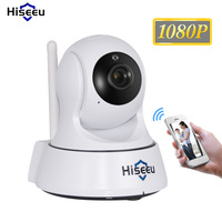 2MP 1080P Wifi Wireless Two Way Audio Mic PT HD IR IP Mini Home Security Baby