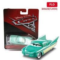 DISNEY PIXAR 3 Alloy Cars Model Toy King Lightning McQueen McKowan Black Storm Car Action Figure