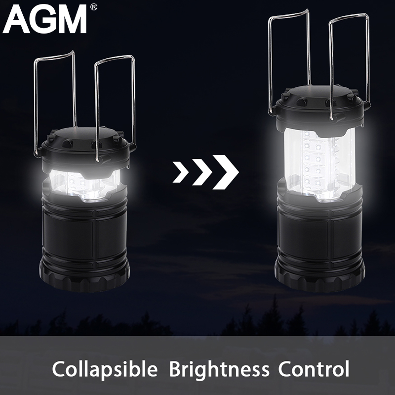 AGM LED Portable Lanterns Flash Light Torch Waterproof Cree X900 Powerful FlashLight Hand Crank Lamp For Hiking Camping Fishing