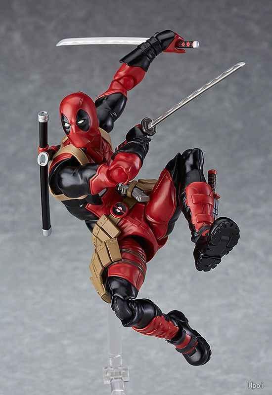 15 cm Deadpool Marvel Boneca Anime Figura de Ação DO PVC brinquedos Coleção figuras para o amigo presente