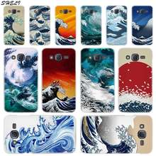 Sheli Wave Art Hard Phone Case for Samsung Galaxy J1 J2 J3 J4 J5 J6 J7 J8 2015 2016 2017 2018 J7 Prime J2 Ace(China)