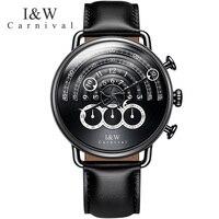 Carnaval iw horloges mannen militar esportes topo criativo quartzo parar relógio cronógrafo relógios personalidade masculino safira relogio|relogio relogios|relogio men|relogio top -