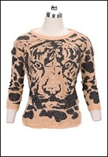 Autumn-winter-Fashion-Women-Batwing-Tiger-Print-Knitted-Sweater-Leopard-Jumper-Pullover-Plus-size-Knit-Sweaters