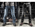 Free shipping NEW 2016 Fashion Men Women KOMINE PK motorcycle Jeans motorcycle Riding racing pants With Pads blue black S-3XL