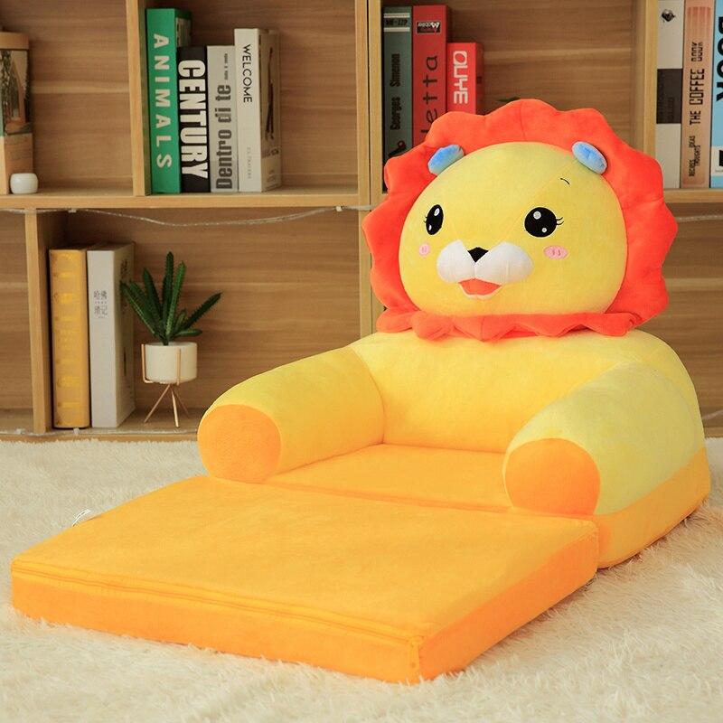 Livraison directe nouveau Design Peluches en peluche peluche jouet fauteuil doux cochon éléphant canapé chaise pour enfants enfant en bas âge enfants cadeaux - 6