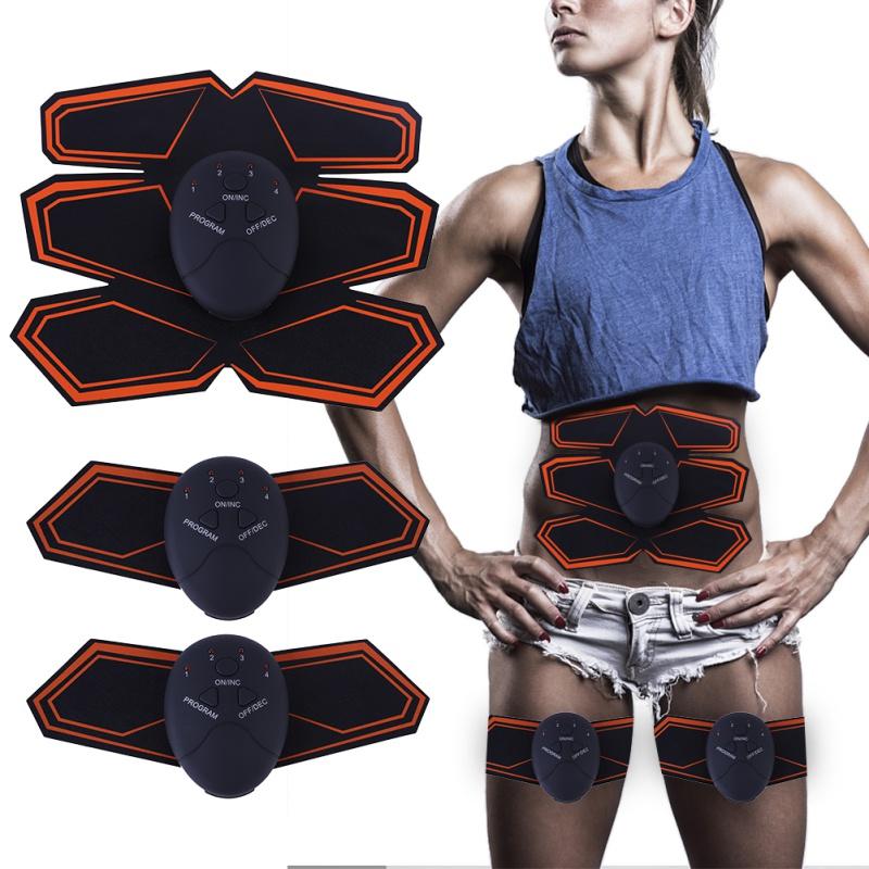 Electric Muscle Weight Loss Slimming Device Training Abdominal Stimulation Body Cellulite Exercise Relax GearA