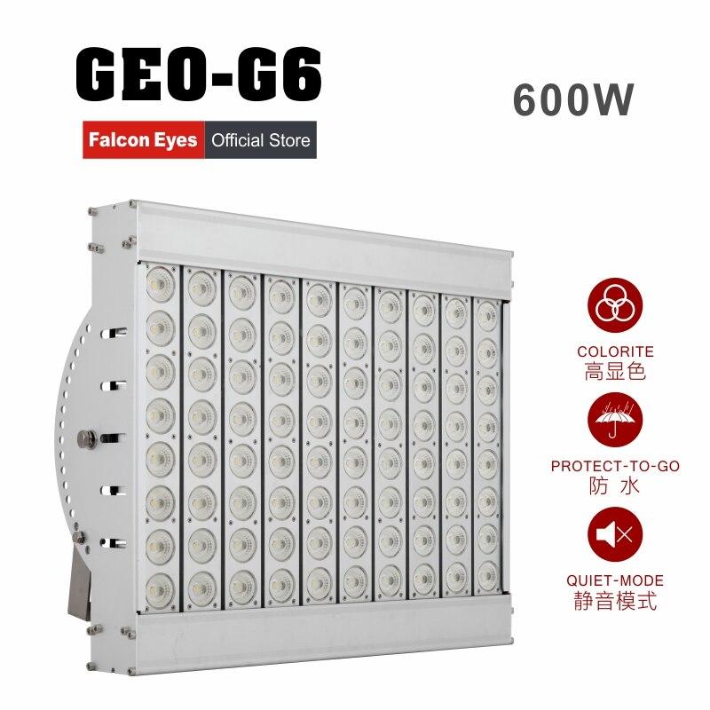 팔콘 눈 600W 단계 조명기구 영상 / 영화 / 스튜디오 / 영화 / 광고 GEO-G6를 위해 거대한 LED 방수 빛 연속