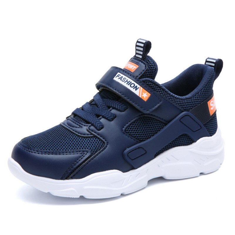 SKHEK Kids Shoes Boys Girls Sneakers Brand Casual White Blue Black Children Shoes Breathable Boy Sport Running Shoes NEW Autumn