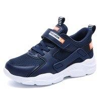 Skhek crianças sapatos meninos meninas tênis marca casual branco azul preto crianças sapatos respirável menino esporte tênis de corrida novo outono|Tênis| |  -