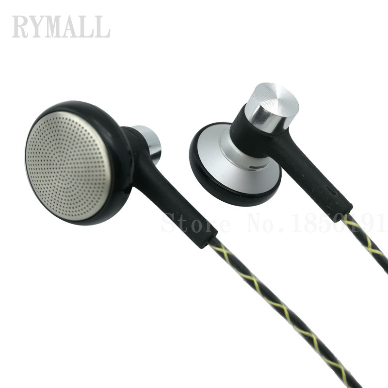 RY04 original in-ear Earphone metal manufacturer 15mm music  quality sound HIFI Earphone (IE800 style cable) 3.5mm