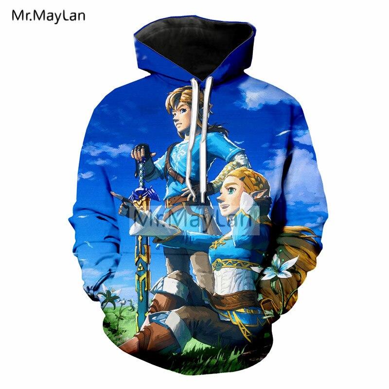 3D Print Game The Legend of Zelda Hoodies