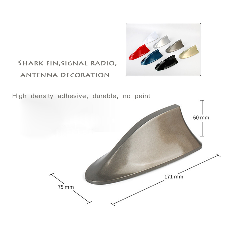 Image 3 - For Mercedes Benz A Class W176 W169 B W246 W245 C W205 W204 W203 2018 Car Shark Fin Antenna Signal Aerials Sticker Accessories-in Car Stickers from Automobiles & Motorcycles